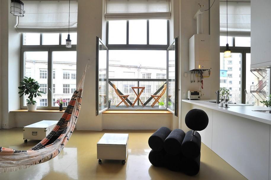Окно в стиле модерн