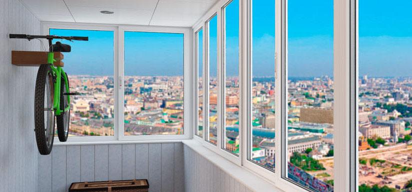 Остекление балконов на заказ