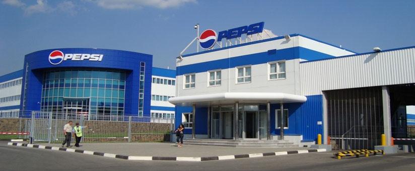 Пластиковые окна на заводе Пепси
