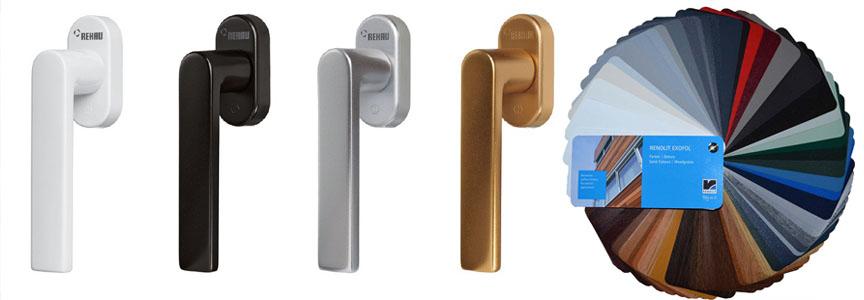 Ручки для пластиковых окон