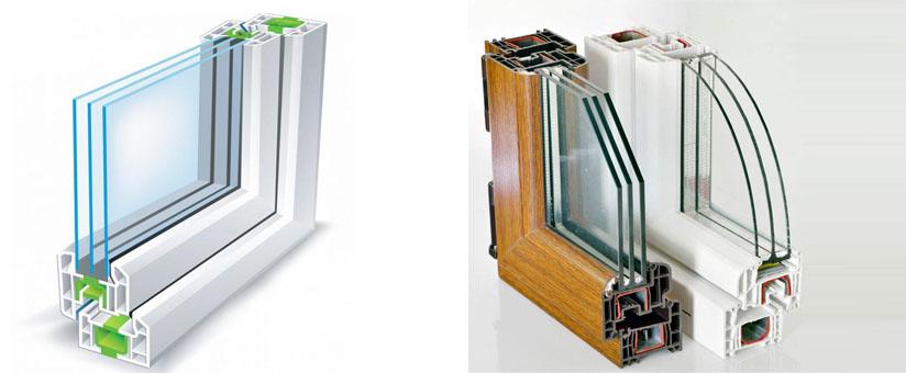 Двухкамерные окна РЕХАУ