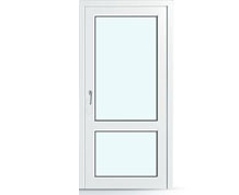 Входная дверь ПВХ 2000 на 900мм