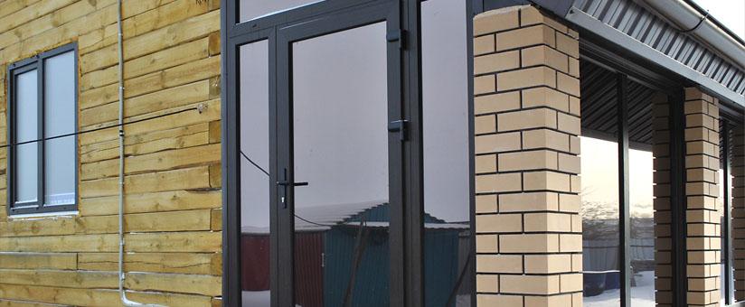 Кашированные входные двери