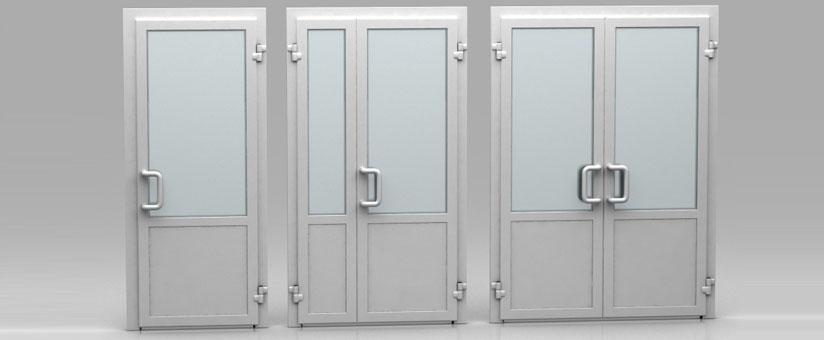 Офисные пластиковые двери