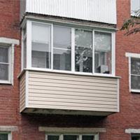 П - образный балкон
