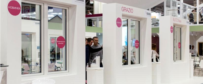 Окна Грацио на выставке