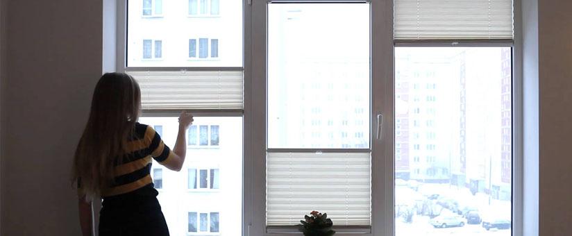 Жалюзи на пвх окне