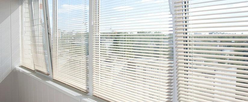 Жалюзи на окне пвх после установки