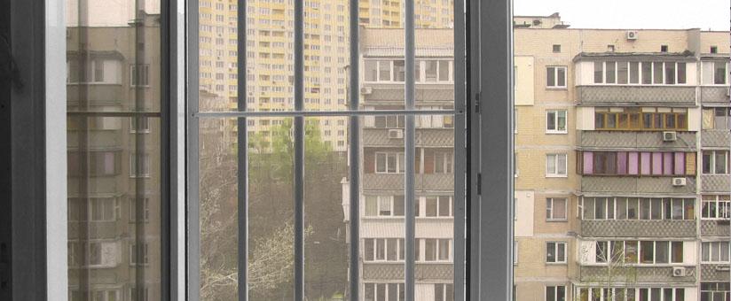 Решетка на пластиковое окно