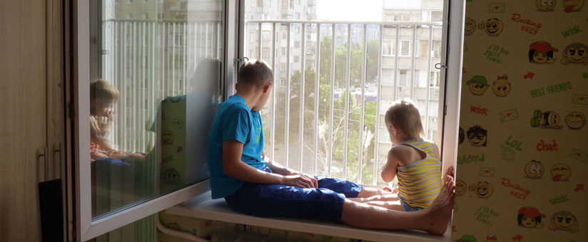 Защита на пластиковые окна для ребенка